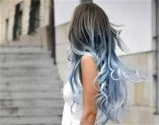 dark hair white ombre - Bing Images
