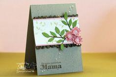 von stempelwiese: zarte Muttertagskarte