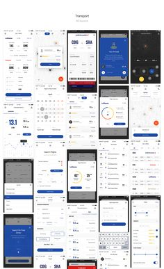Aware Mobile UI/UX Kit on Behance