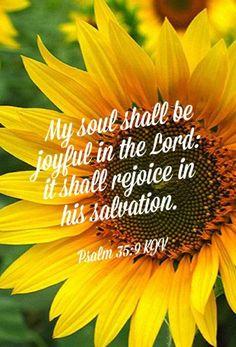 PSALM 35:9 KJV