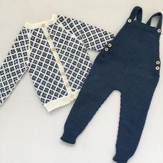 Kan allerede nå si at disse to kommer til å bli favoritter til høsten💙 #firkornkofte#snekkerstrikkebukse… Little Boy Outfits, Cute Outfits For Kids, Baby Boy Outfits, Stylish Baby Clothes, Knitted Baby Cardigan, Baby Prince, Baby Boy Shoes, Kids Fashion Boy, Handmade Clothes