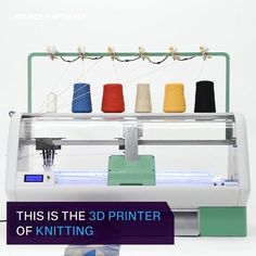 Only 3 days left! Back us now to bring garment manufacturing back to your neighborhood! Link in bio. Video via @verge #Kniterate#knittingmachine#knitting #fabric#yarn#knitwear#maker#textiles #textiledesign#makerspace #fashionknitwear#machineknitting