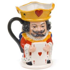 King and Queen of Hearts Toby Mug