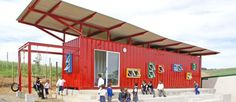Shipping Container Classroom by Tsai Designs