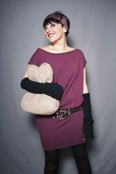 Smilingischic, fashion blog, Sandra Bacci, two is better than one, rock or chic?, miawish maglieria, abito bordeaux, Smilingischic_Mia_Wish- .http://www.smilingischic.com/rock-or-chic-two-is-better-than-one/