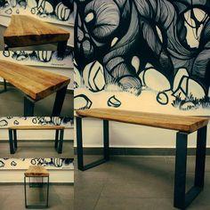 Made by @_hl2_ Y quién no se ha sentado nunca en un escalón??, en este caso el escalón de una antigua lechería de Malasaña, posteriormente transformado en Tiovivo, allí lo encuentro y aquí lo tengo con dos patas de platina, perfecto ahora sí para sentarse largo y tendido. #_hl2_ #instagood #woodworking #furniture #muebles #furnituredesign #interiordesign #fashion #instalike #handmade #artesanía #woodcraft #handcraft #finewoodworking #madeinspain #hechoamano #woodworkforall #diy