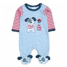 Ropa del Bebé de Los Pijamas del Bebé de Los Mamelucos Del Mameluco Recién Nacido Pies Cubierta de la ropa de Noche Infantil trajes de Cuerpo de Una sola pieza de Ropa(China (Mainland))
