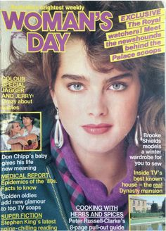Brooke Shields, Meant To Be, Acting, Humor, Life, Magazine Covers, Bollywood, England, Actresses