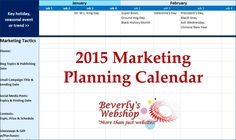One sure shot way to set your business on a path for success is to setup a plan. To help, download this FREE #MarketingPlanningCalendar . Click here for details: http://www.bevswebshop.com/wordpress/?p=867