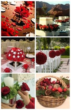 Overall Red Wedding Ideas