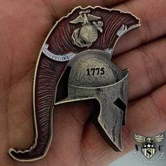 USMC Spartan Marine Corps Coin $17.75