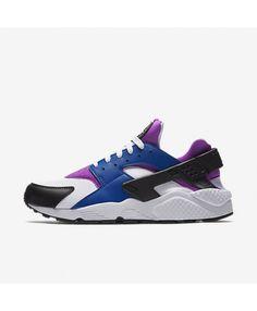 5c3573d2d1 Nike Air Huarache Blue Jay Hyper Violet Black White 318429-415 Mens Nike  Air
