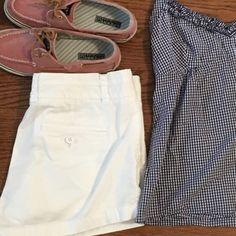 J Crew   White   Shorts Good condition white shorts. J. Crew Shorts