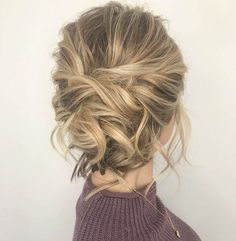 Stylish Messy Bun Hairstyle Ideas, Messy bun hairstyles may look quick and often haphazard, nevertheless, lots of skill and attention needed to detailed and chic one. Generally, the..., Bun Hairstyles