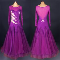 Cheap ballroom dance skirts, Buy Quality ballroom dance competition dresses directly from China waltz dance dress Suppliers: violet royal blue Newest Excellent Ballroom Dance Competition Dress Tango Dress Waltz Dance Dress Ballroom Dancing skirt Costume Sexy, Costume Dress, Dance Costume, Dress Outfits, Fashion Dresses, Prom Dresses, Dance Performance Wear, Ballroom Dresses For Sale, Costume