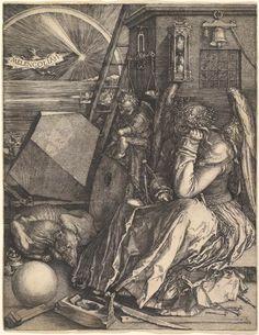 Albrecht Dürer (German, 1471-1528), Melencolia I, 1514
