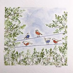 Art Impressions Blog: Watercolor Weekend Roundup - Fresh Fall Inspiration!