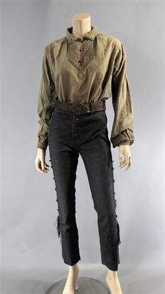BLACK SAILS ANNE BONNY CLARA PAGET SCREEN WORN PIRATE COSTUME SS 3 & 4