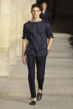 Hermès Men's RTW Spring 2014 - Slideshow - Runway, Fashion Week, Reviews and Slideshows - WWD.com