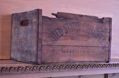 Vintage United States Brewing Co Crate Vintage by ScoutandForge