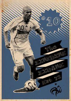 "Zinedine Zidane ""I AM NUMBER TEN"""