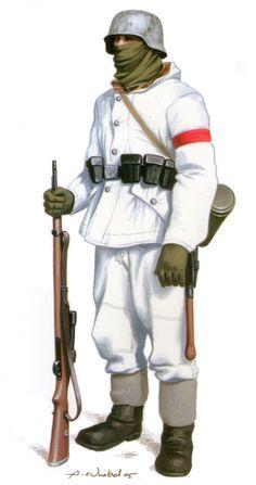 SS-Schütze (fusilero) de la SS-Sonderbrigade «Dirlewanger Ejercito Romano, Ejercito Alemán, Soldados De Guerra, Tropas, Trajes Militares, Pintura De Guerra, Diseño De Personajes De Fantasía, Historia Militar, Modelo A Escala