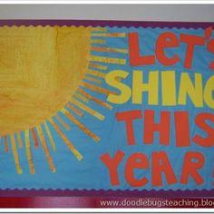 Back-to-School Bulletin Board