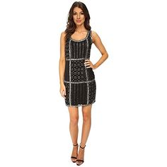 (アドリアナ パペル) Adrianna Papell レディース トップス ワンピース Sleeveless Fully Beaded Cocktail Dress 並行輸入品  新品【取り寄せ商品のため、お届けまでに2週間前後かかります。】 表示サイズ表はすべて【参考サイズ】です。ご不明点はお問合せ下さい。 カラー:Black