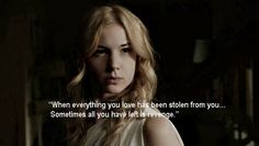 revenge tv show | Favorite TV Series Quotes on George's Show's Blog - Buzznet