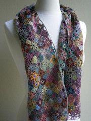 Fleur simple scarf BVO
