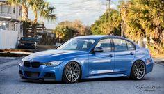 An Estoril Blue BMW F30 328i Gets Modded At European Auto Source