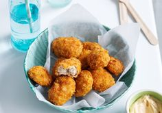 These little chicken bites are completely delicious and this recipe tends to be just as popular with adults as kids.  Stage: Toddler