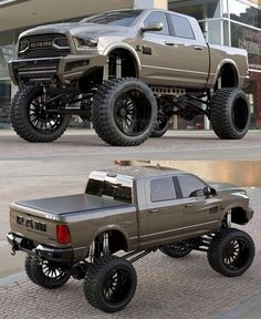 Excited to finally design a Ram 2500 for a client! Riding on with and bumpers. Pickup Trucks For Sale, Classic Pickup Trucks, Chevy Pickup Trucks, Chevy 4x4, Ford Trucks, Lifted Chevy Trucks, Ram Trucks, Diesel Trucks, Lifted Dodge