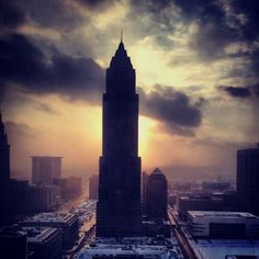 Cleveland, Ohio - photographed by yours truly :)