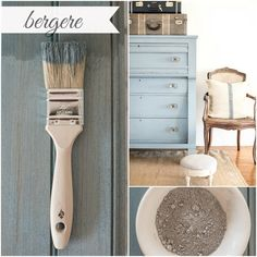 Say hello to bergere… This smokey blue gray inspired by the painted frames of a…