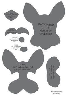 """""""Sabinenok"""" - Toys from felt. - """"Sabinenok"""" – Toys from felt. Dog Crafts, Felt Crafts, Sewing Crafts, Sewing Projects, Dog Quilts, Felt Hair Clips, Felt Dogs, Felt Patterns, Felt Brooch"""