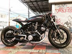 Yamaha Virago Cafe Racer