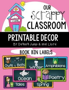 Library Labels for Classroom Library  EDITABLE Chalkboard VersionLibrary Labels for Bins and Books EDITABLE  These labels will help you get your classroom library organized and ready to go.  These labels will look great on any book bin that you choose to use. They also fit the book bins and organizers from Really Good Stuff. Included in the set are 103 labels for bins and Editable labels. The set also includes small labels for your books so that the kids can easily put the books back where they