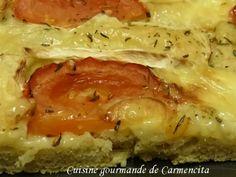 Focaccia au brie http://www.carmen-cuisine.com/article-focaccia-au-brie-121069550.html