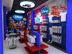Disney In-store Retail Branding Kids Toy Store, Retail Branding, Retail Space, Display Design, Behance, Disney, Design Ideas, Character, Kitchen