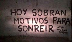 Hoy sobran motivos para sonreir #Acción Poética Guasave #accion