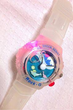 Rock-G : 光る時計