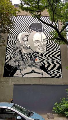 Wall paints, Muurschilderingen, Peintures Murales,Trompe-l'oeil, Graffiti… Bier en Brood Rotterdam