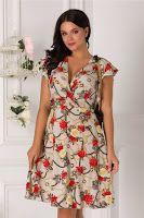 rochie-de-vara-2019-8 Wrap Dress, Floral, Casual, Dresses, Fashion, Vestidos, Moda, La Mode, Florals