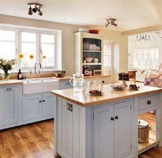 Farmhouse country kitchen ideas - http://ideasforho.me/farmhouse-country-kitchen-ideas/