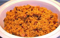 Puerto Rican Red Beans and Rice