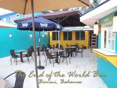 End of the World Bar, Bimini Bahamas