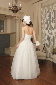 Wedding Dress Couture Ecofriendly Silk Morgan by NaturalBridals, $1495.00