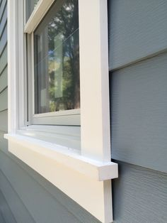 Grey Exterior With Stone - - - House Trim, House Siding, House Paint Exterior, Exterior House Colors, Diy Exterior Siding, Diy Exterior Window Trim, Siding Repair, Stucco Siding, Cafe Exterior