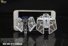 PG Zeta Gundam - Customized Build Modeled by Jon-K Perfect Grade, Zeta Gundam, Robots, Building, Robot, Buildings, Construction